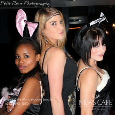Bunny Party at Newscafe